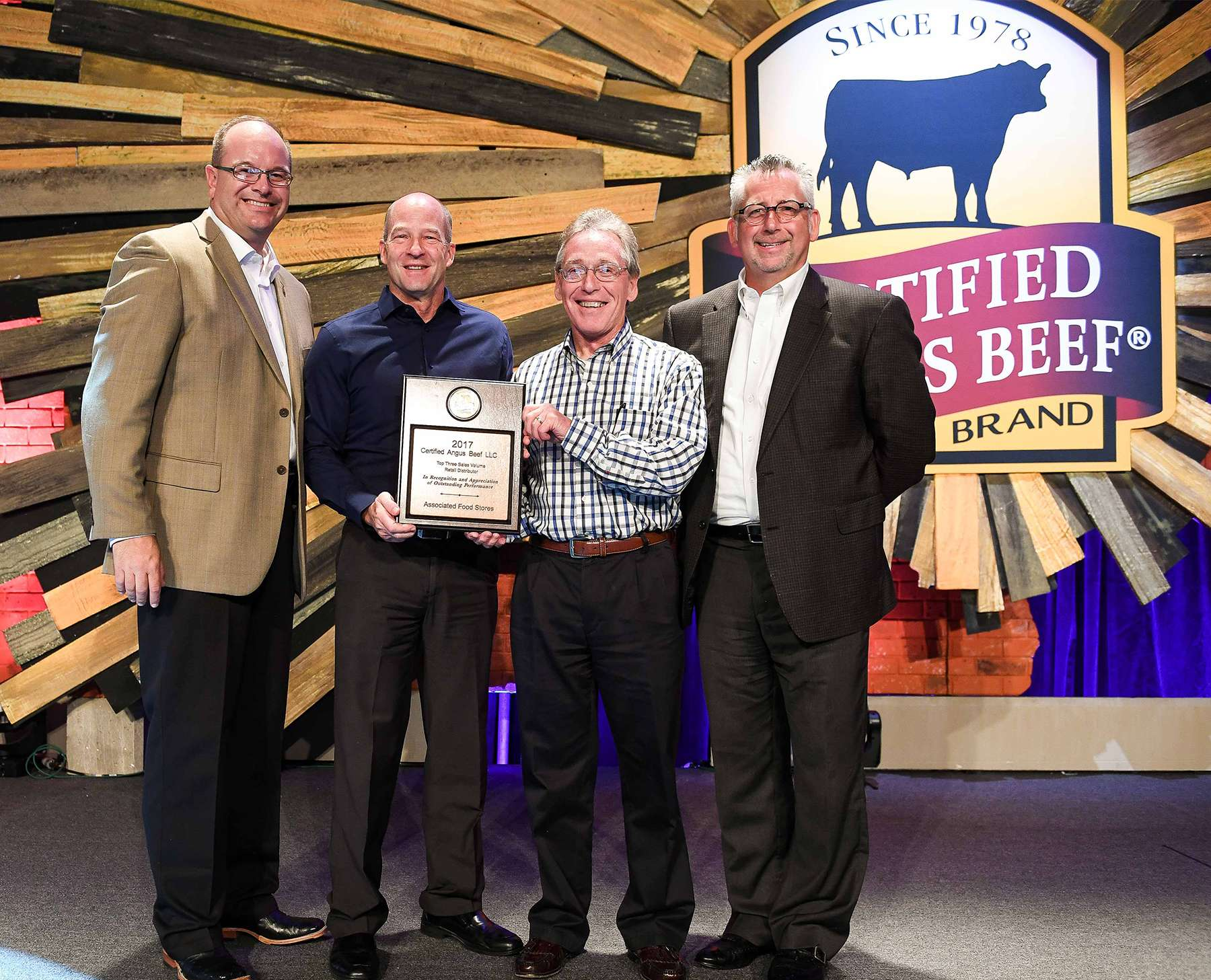 Associated Food Stores Recognized at Certified Angus Beef ® Awards