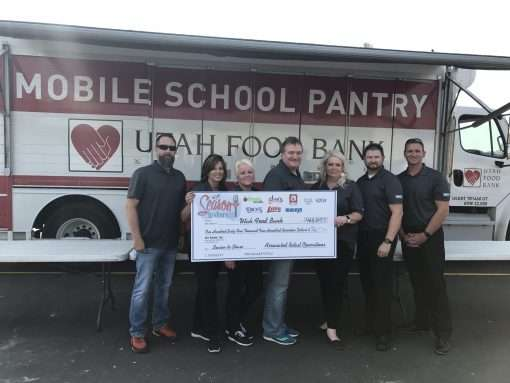 Utah Grocery Stores Donate More than 285,800 Meals to Families in Need