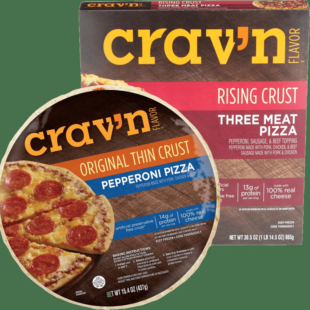 Crav'n Flavor Pizza Options