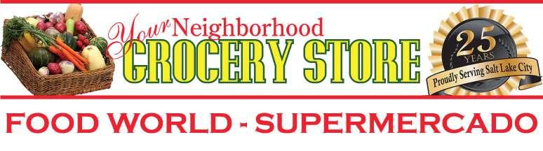 Supermercado Food World Logo