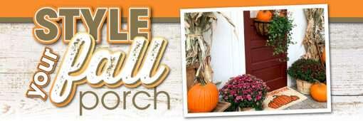 fall fresh decor